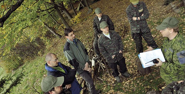 zážitkový teambuilding armytraining