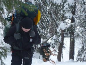 o nas armytraining, výcvik v zimnom kurze prežitia