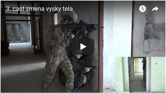 strelecké pozicie od armytraining