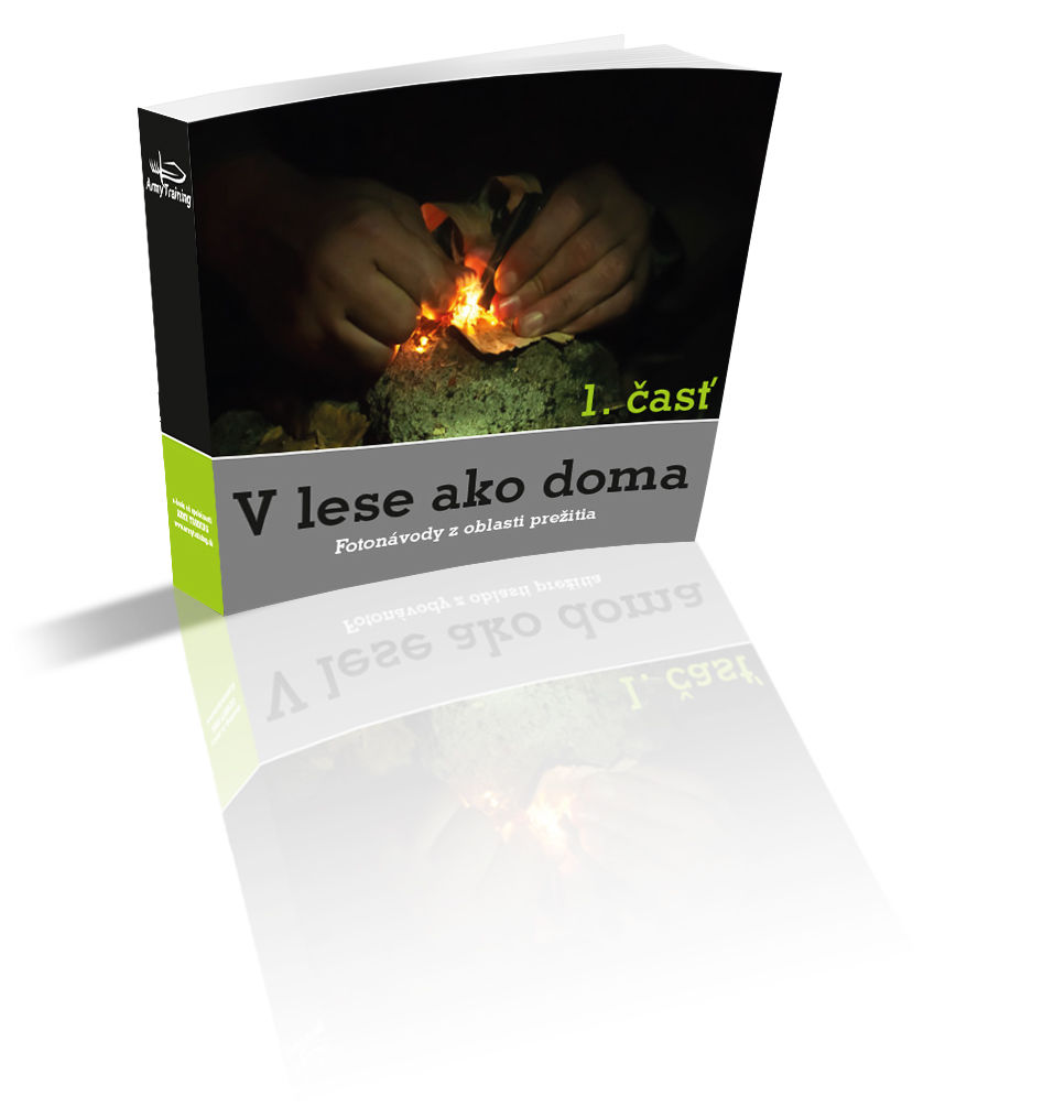 e-book, vlese ako doma 1 armytraining.sk kniha oprežití vlese