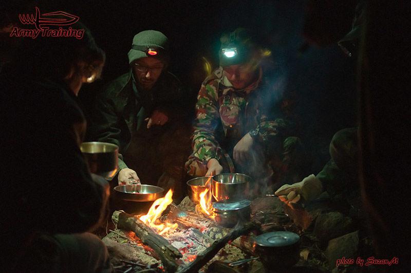 varenie stravy na prežití v lese armytraining.sk