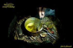 preźitie v prírode varenie čaju armytraining