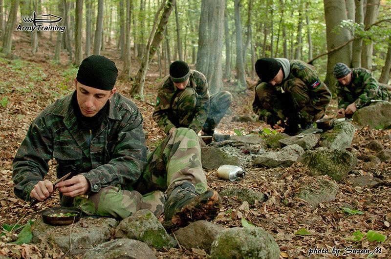 letný kurz prežitia strava armytraining.sk