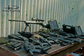 akčná streľba a zábava , dobrodružstvo na strelnici ukážka zbrani armytraining.sk