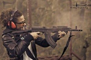 zážitok akčná streľba pre ženy a deti armytraining.sk