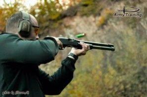 akčná streľba sbrokovnicou, brokovnica, vycvik , kurzy armytraining.sk