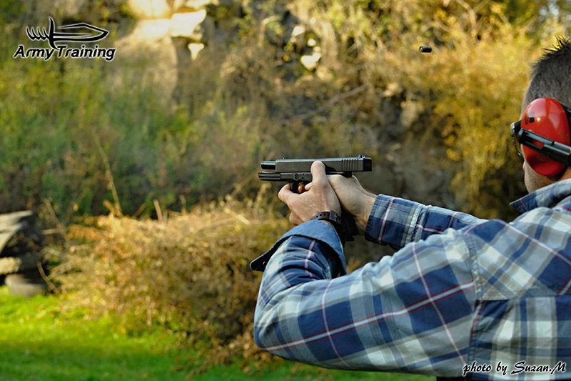 praktická streľba, výcvik so zbraňou, základy streľby armytraining.sk