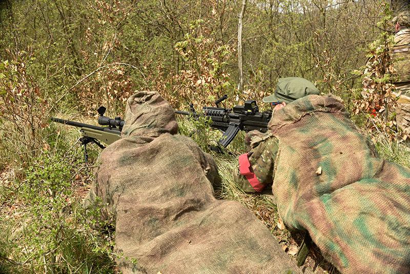 kurze prieskumníka, taktika, maskovanie armytraining.sk