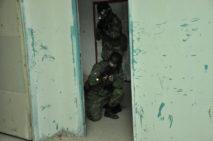 boj v budeve a miestnostiach, cqb taktika armytraining.sk