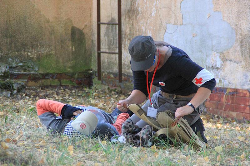 prvá pomoc, zachrana života, kurz armytraining.sk