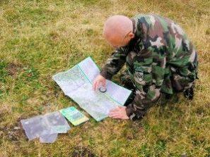 orientácie vdivočine pomocou mapy abuzoly kurz armytraining