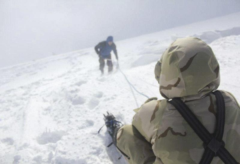 kurz zachrany spod laviny, pod snehom armytraining.sk