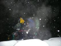 zimný kurz prežitia, pochod v noci a v zime armytraining.sk