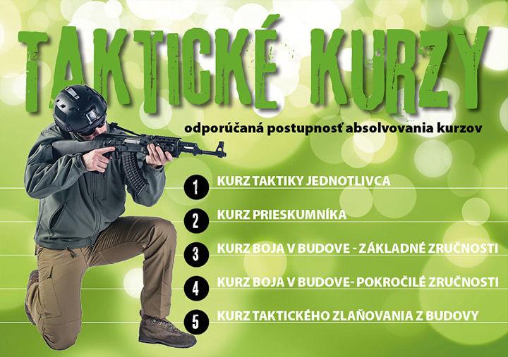 odporúčaná postupnosť taktických kurzov armytraining