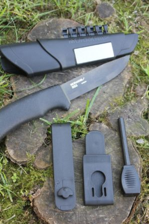 Nôž MORAKNIV Bushcraft and survival Black