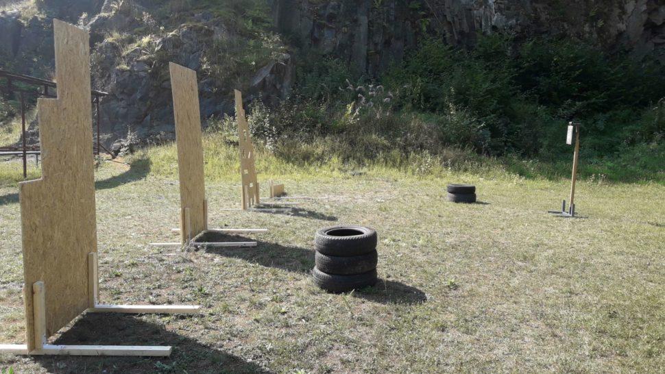 bariery nastrelecký výcvik