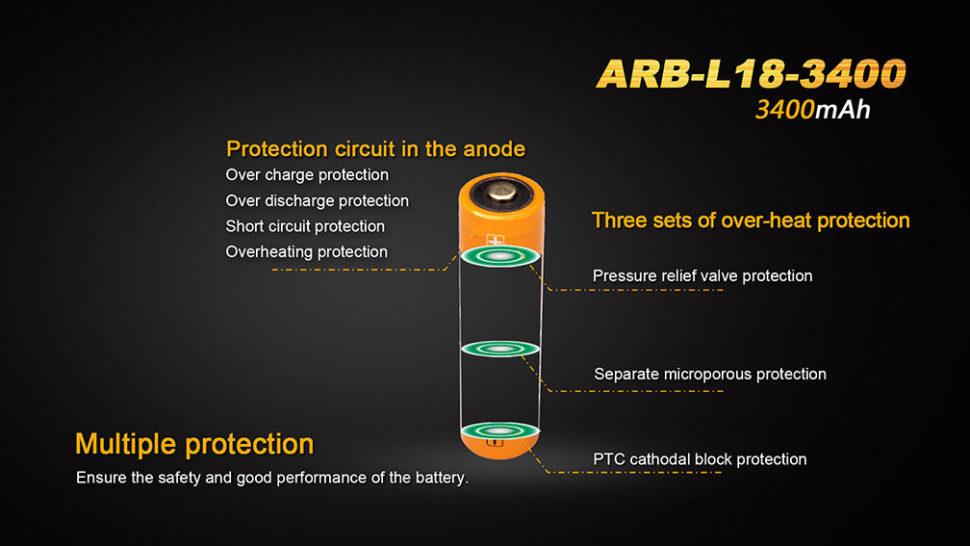 vlastnosti baterii fenix 3