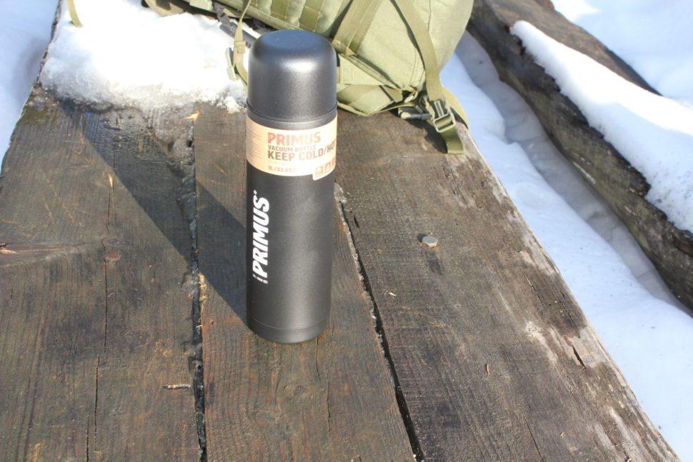 1 Primus Vacuum Bottle Black - 1L
