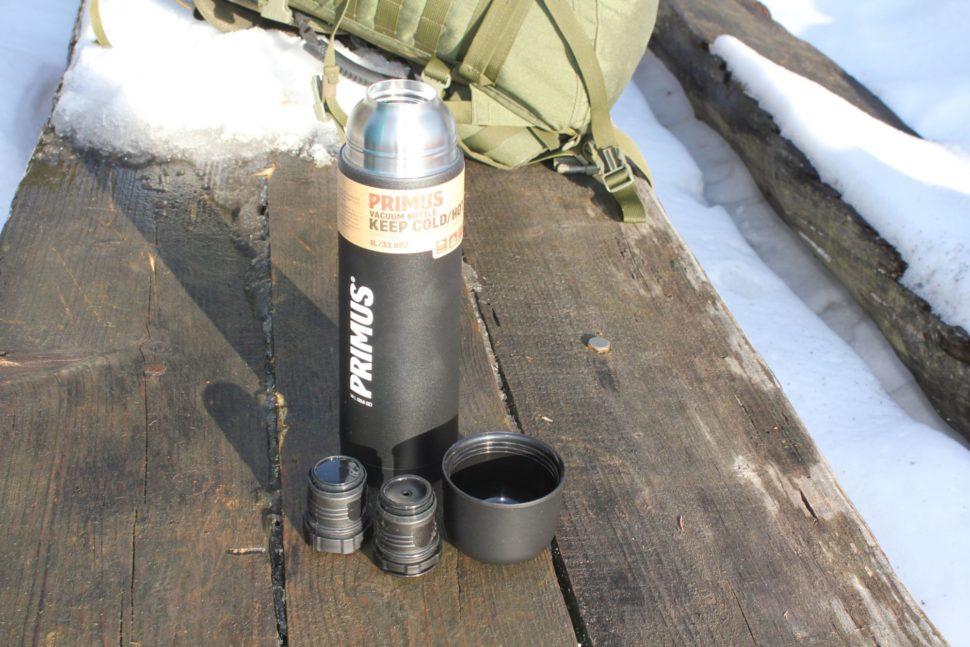 Primus Vacuum Bottle Black - 1L 2