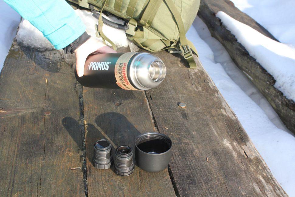Primus Vacuum Bottle Black - 1L 3