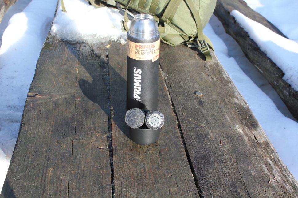 Primus Vacuum Bottle Black - 1L 5