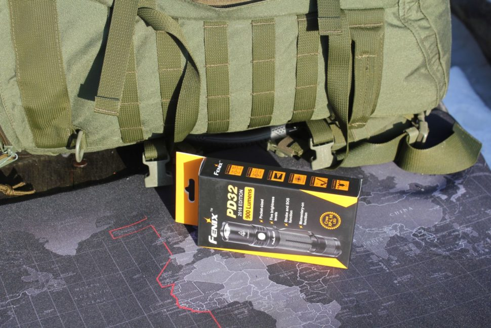 LED baterka Fenix PD32 XP-L 1